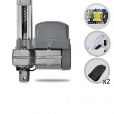 Kit Motor de Portão Eletrônico Basculante PPA Bv Potenza Predial SP 1/3 HP