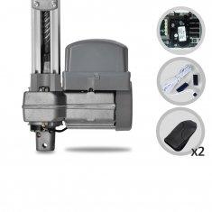 Kit Motor de Portão Eletrônico Basculante PPA Potenza Predial Jet Flex Hibrida Trilho 2,00 mts