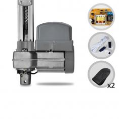 Kit Motor de Portão Eletrônico Basculante PPA Potenza Predial Robust Analogica