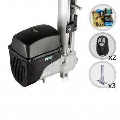 Kit Motor de Portão Eletrônico Basculante Taurus Soft 1/5 HP RCG + 03 Suportes