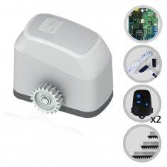 Kit Motor de Portão Eletrônico Deslizante Fast Gatter 1/4 Hp Peccinin
