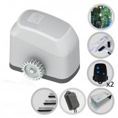 Kit Motor de Portão Eletrônico Deslizante Fast Gatter Peccinin + Base + Tx Car