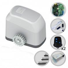Kit Motor de Portão Eletrônico Deslizante Fast Gatter Peccinin + Suporte
