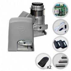 Kit Motor de Portão Eletrônico Deslizante Industrial PPA DZ 1500 IND Jet Flex