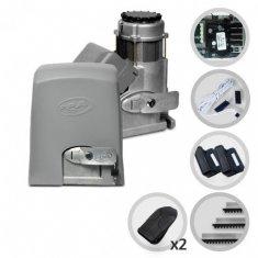 Kit Motor de Portão Eletrônico Deslizante Industrial PPA DZ 1500 IND Jet Flex Facility