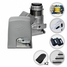 Kit Motor de Portão Eletrônico Deslizante Industrial PPA Dz Fort