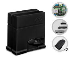 Kit Motor de Portão Eletrônico Deslizante Industrial PPA DZ IND 2.2 Robust BLDC