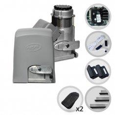Kit Motor de Portão Eletrônico Deslizante PPA Dz 800 Condominium Jet Flex Facility Hibrida