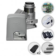 Kit Motor de Portão Eletrônico Deslizante PPA Dz Condominium 1/2 HP Jet Flex