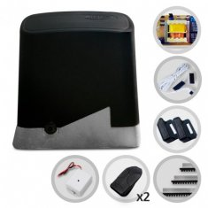 Imagem - Kit Motor de Portão Eletrônico Deslizante PPA DZ Home 1/4 HP PPA + Tx Car