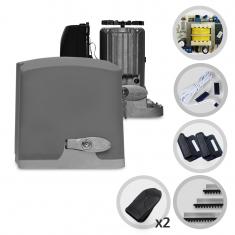 Kit Motor de Portão Eletrônico Deslizante PPA Dz Rio R700 1/2 Hp