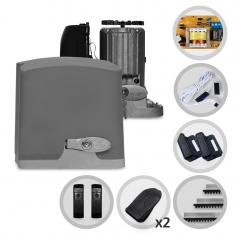 Kit Motor de Portão Eletrônico Deslizante PPA Dz Rio 400 Pop Plus + Sensor Fotocélula Anti-Esmagamento F10