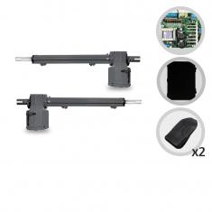 Imagem - Kit Motor de Portão Eletrônico Pivotante PPA Piston Super 1/4 Hp Jet Flex