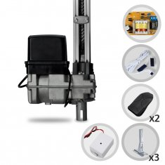 Kit Motor Portão Basculante BV Home Robust PPA 1/4 Hp + Suportes + TX CAR