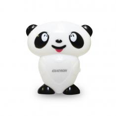 LED Noturno Exatron Para Quarto de Criança - Panda