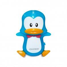 LED Noturno Exatron Para Quarto de Criança - Pinguim
