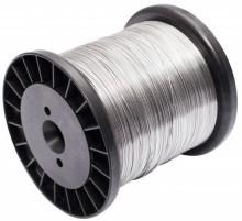 Imagem - Rolo de Aço Inox Arame para Cerca Elétrica 0,90mm 180 Metros