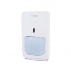 Sensor infravermelho interno Com fio Dupla Tecnologia DT + Microondas ECP F180012