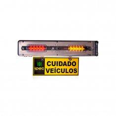 Imagem - Sinalizador Sinaleira Entrada e Saída de Veículos Audiovisual Ipec