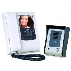 Vídeo Porteiro Eletrônico Sense Memory Port com Vídeo Memória Colorido Monitor LCD e Painel Touch Screen HDL