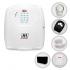 Kit Alarme Residencial JFL Sem Fio Completo com 1 Sensor e Bateria