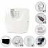 Kit Alarme Residencial ou Comercial Sem Fio Bopo Com 12 Sensores e Discadora (Controles e Sensores Já Cadastrados)