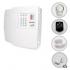 Kit Alarme Residencial PPA 5 Sensores Magnéticos e Discadora (Controles e Sensores Já Configurados)