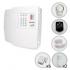 Kit Alarme Residencial Sem Fio PPA 8 Sensores e Discadora (Controles e Sensores Já Configurados)
