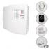 Kit Alarme Residencial PPA 10 Sensores Magnéticos Sem Fio (Controles e Sensores Já Cadastrados)