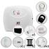 Kit Cerca Elétrica Com Alarme Ecr 18 Plus JFL 4 Sensores Para 120 Metros de Muro (Com Bateria)