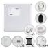Kit Cerca Elétrica Com Alarme Sem Fio ECP 4 Sensores Para 120 Metros de Muro (Sem Bateria)