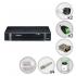 Kit Intelbras 2 Câmeras de Segurança Infra HDCVI com Dvr 4 Canais + HD 1TB