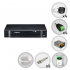 Kit Intelbras 4 Câmeras de Segurança Infra HDCVI com Dvr 8 Canais + HD 1TB