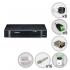 Kit Intelbras 8 Câmeras de Segurança Infra HDCVI com Dvr 16 Canais + HD 1TB