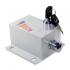Kit Motor de Portão Eletrônico Basculante PPA Penta Predial 1/2 HP + Suportes + Trava
