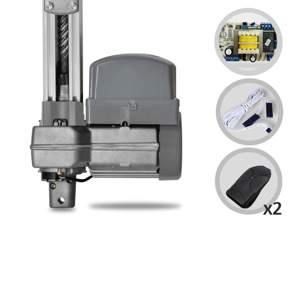 ac4005f4224 Kit Motor de Portão Eletrônico Basculante PPA Bv Potenza Predial SP 1 3 HP
