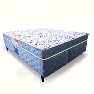 Cama Box + Colchão Queen Size Netsono D45 158x198x55cm