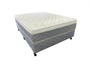 Cama Box + Colchão Casal Netsono Mola Pocket® Five Star AIR com Box SI One Face 138x188x72cm