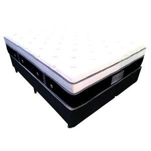 Imagem - Cama Box + Colchão Queen Size MontBlanc Euro Molas Pocket® 158x198x69 29166/17209