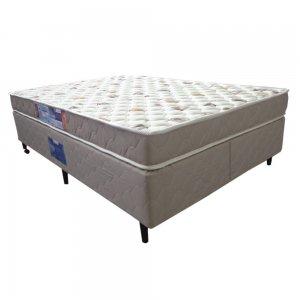 Cama Box + Colchão Queen Size Netsono D33 158x198x55cm