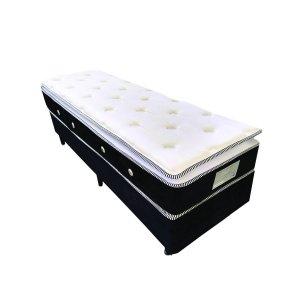 Imagem - Cama Box + Colchão Solteiro MontBlanc Super Molas Pocket® 088x188x69 54069