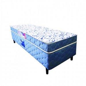 Cama Box + Colchão Solteiro Netsono D45 088x188x65cm