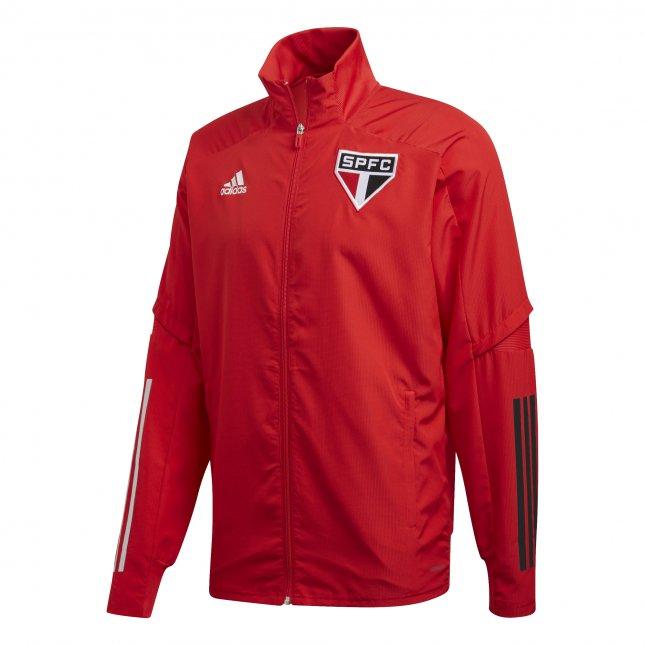 Jaqueta Adidas São Paulo Vermelha