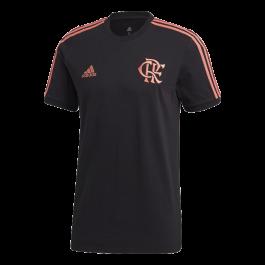 Imagem - Adidas Camiseta CR Flamengo 3-Stripes cód: 074827
