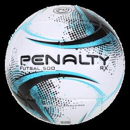 Imagem - Bola Futsal Penalty Rx500 Ultra Vision Preto Azul cód: 075921
