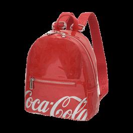 Imagem - Bolsa Costas Coca Cola Shine Vermelha cód: 076508