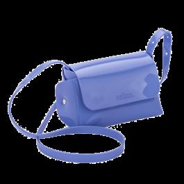 Imagem - Bolsa Melissa Mini Cross Bag Azul Esmalte cód: 079176