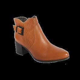 Imagem - Bota Bottero Ankle Boot Cano Curto Whisky cód: 076699