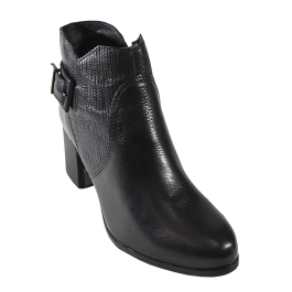 Imagem - Bota Bottero Ankle Boot Cano Curto Preta cód: 076700