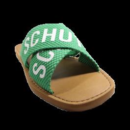Imagem - Chinelo Rasteira Schutz X Logo Verde cód: 078032